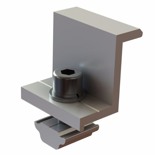 Solar Racking Universal End Clamp