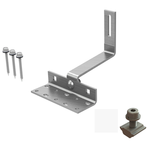 Solar Racking Adjustable Tile Roof Hook