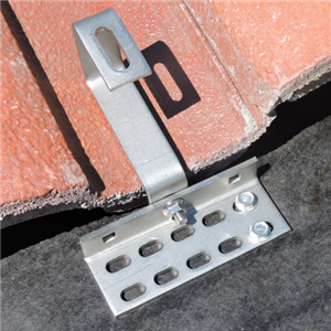 Adjustable, Flexible Solar Tile Roof Hook
