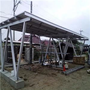 Canopy Solar Racking Structure
