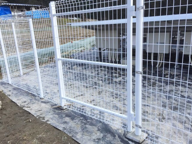 Photovoltaic Welded Wire Mesh Galvanized Iron Fence Panel System