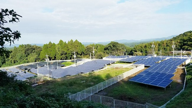 4.5MW Aluminum Ground Mounting Project Installed in Osaka, Japan