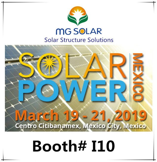 Solar Power Mexico Exhition March 19-21, 2019 Will Start in the End of This Month