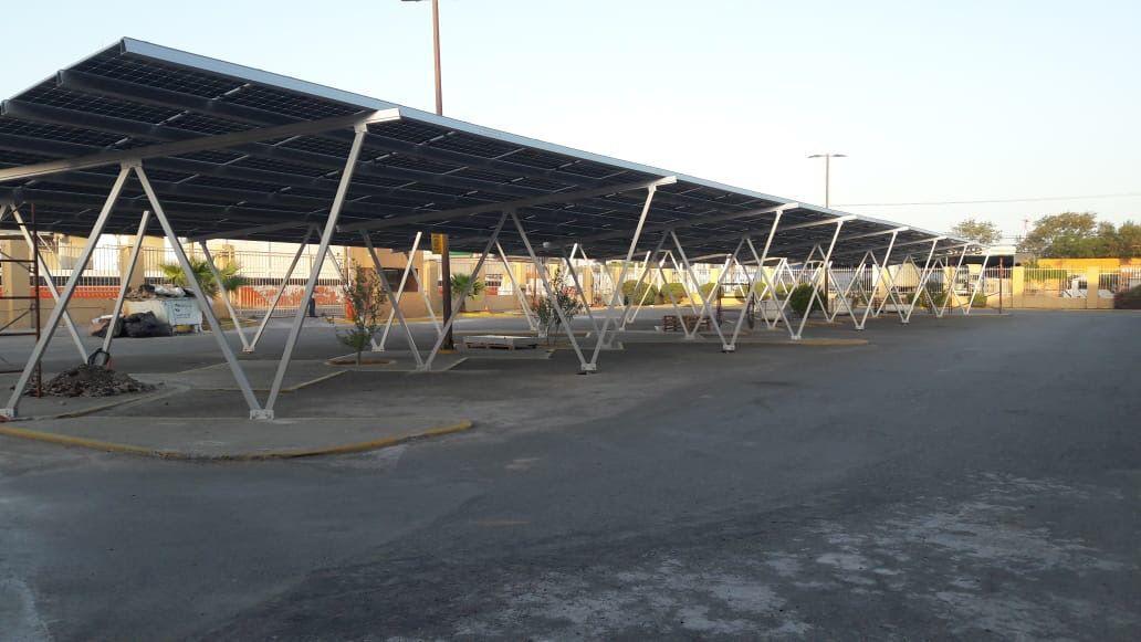 Solar Carport Racking