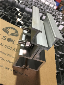 Standing Seam Solar Roof Mounting Clamp