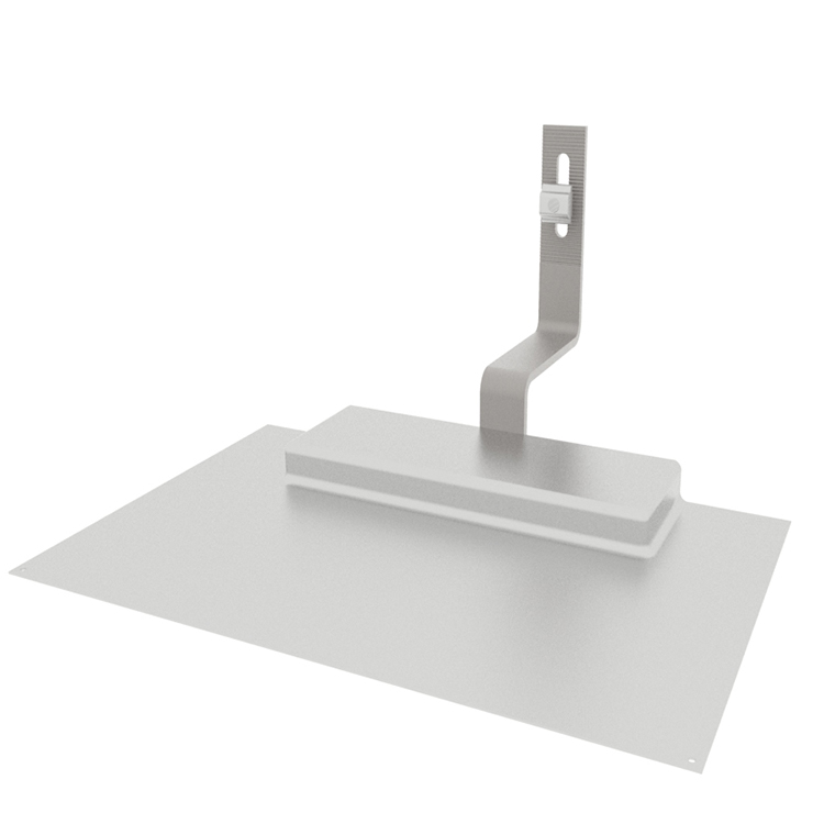 Composition roof flashing
