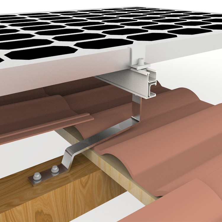 Solar Racking Flat Tile Hook