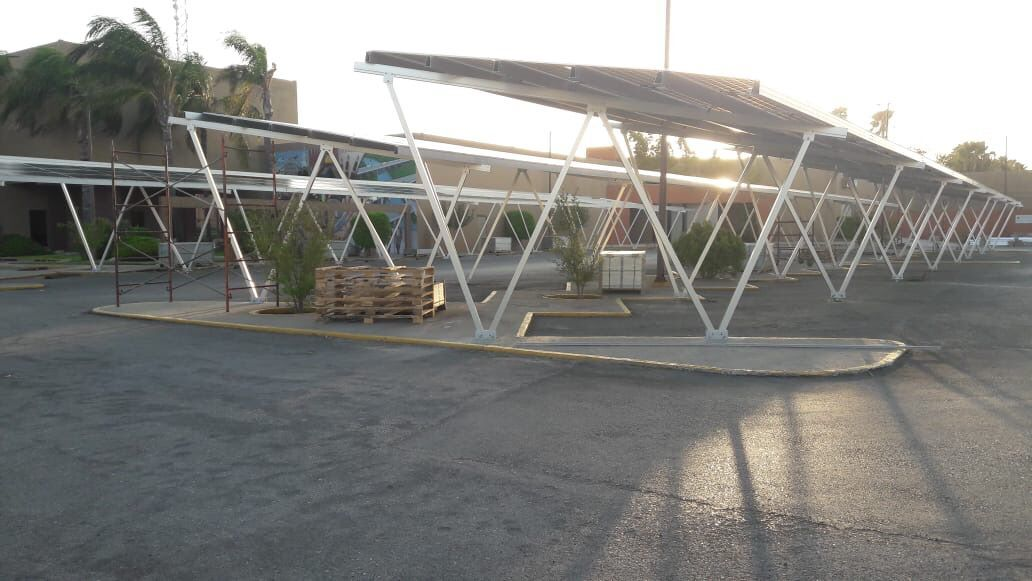 Cars Carport Racking System