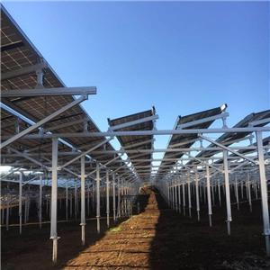 Agriculture Solar Farm Ground Mount Racking System