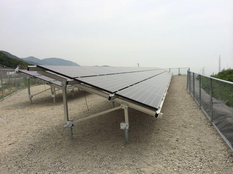 Aluminum Solar Ground Mount