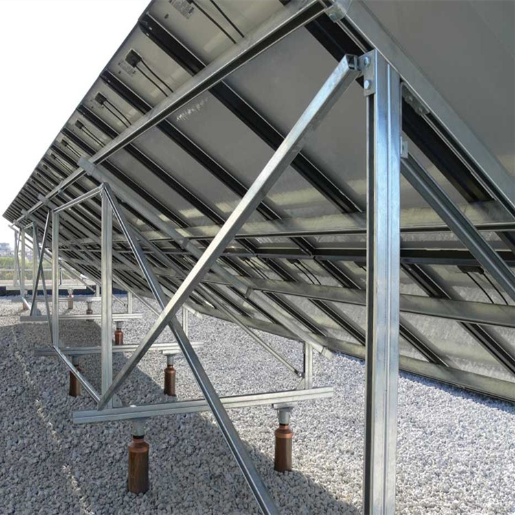 C Type Galvanized Steel Solar Ground Structure System