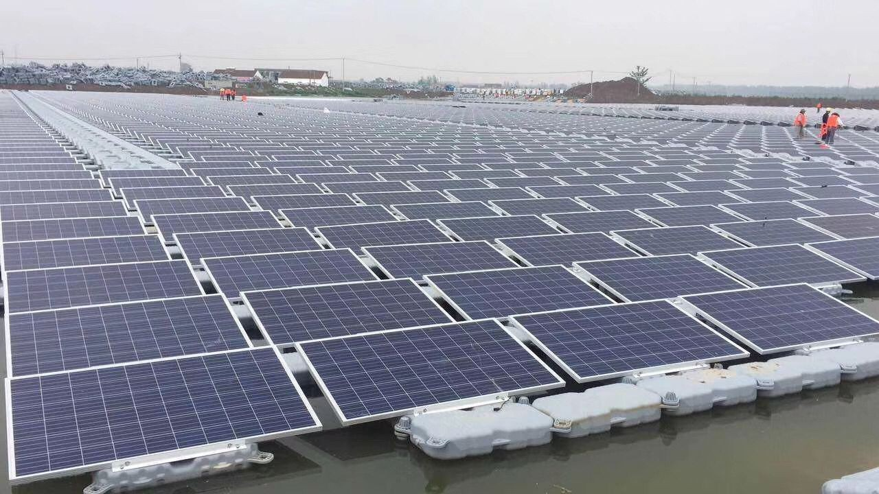 Floating Solar Structure System