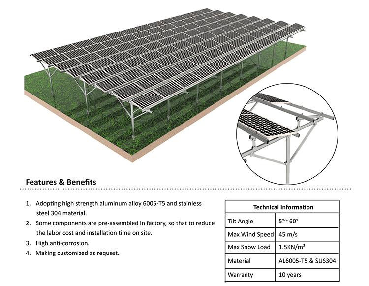 Solar Farm Structure