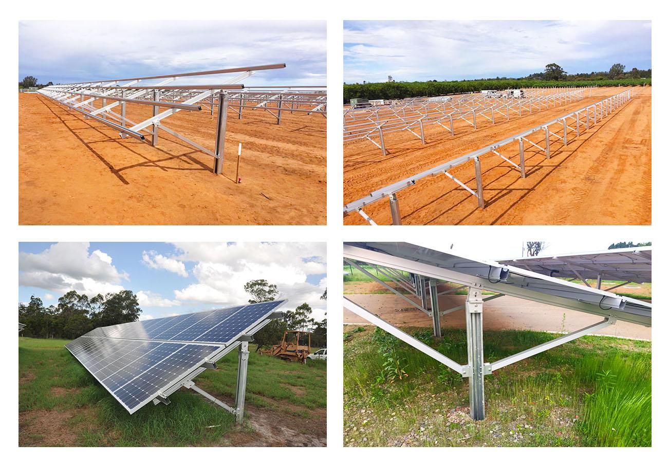 Solar Ground Structure