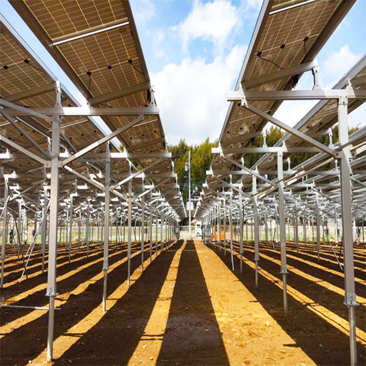 Solar Farm Structure System