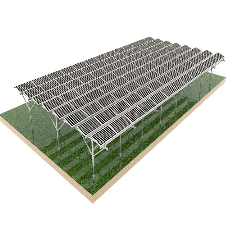 Solar Farm Ground Mount System