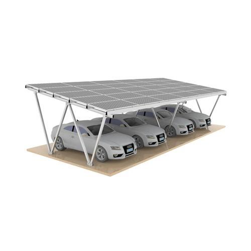 Structure d'abri solaire