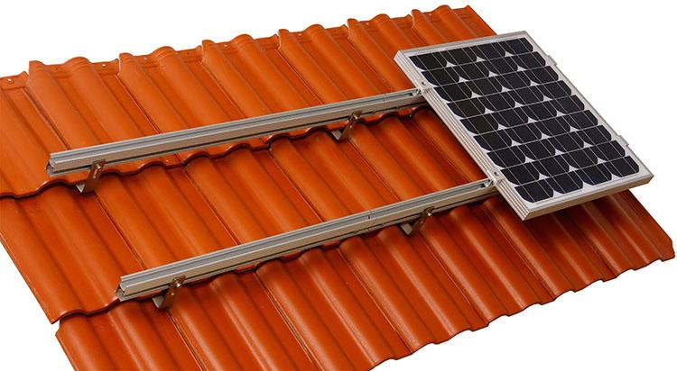 Solar Tile Roof Racking
