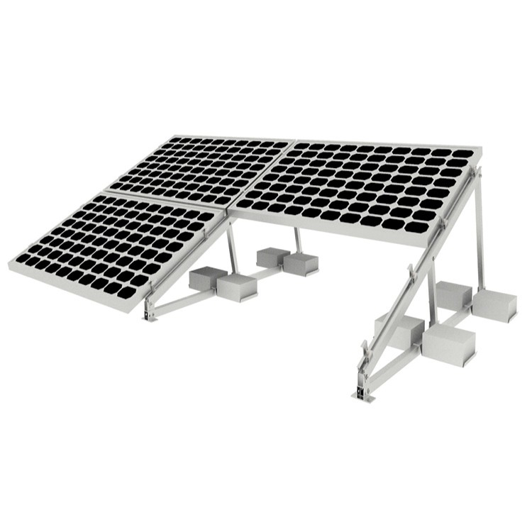 Flat Roof Solar Mounting System Manufacturers, Flat Roof Solar Mounting System Factory, Supply Flat Roof Solar Mounting System