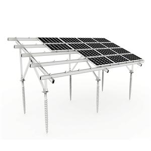 Aluminum Solar Ground Mounting System