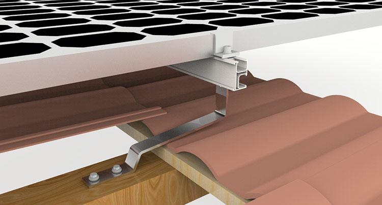 Solar Racking Flat Tile Hook