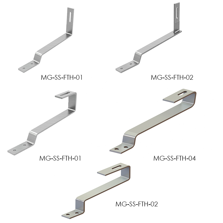 Stainless Steel Solar Photovoltaic Hook