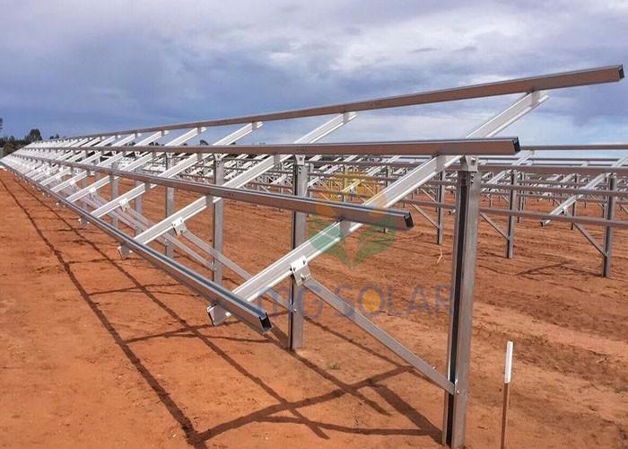 يقع MG Solar 750KW Pile Ground Mounting System في بيرث ، أستراليا