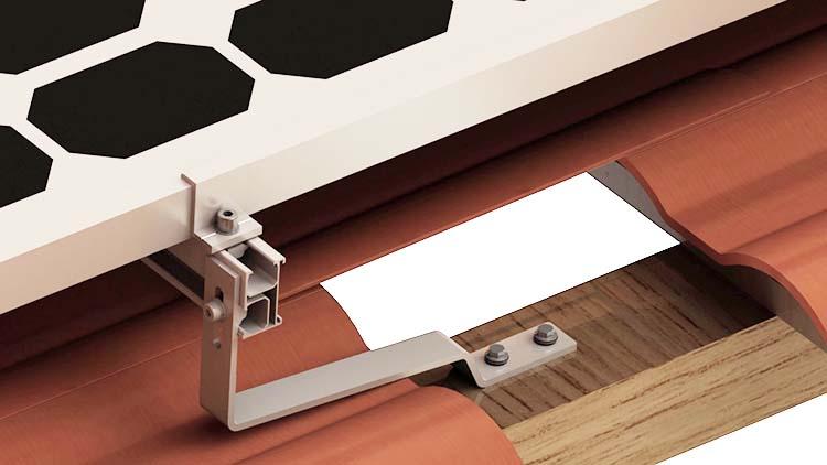 Flat Tile Roof Hook