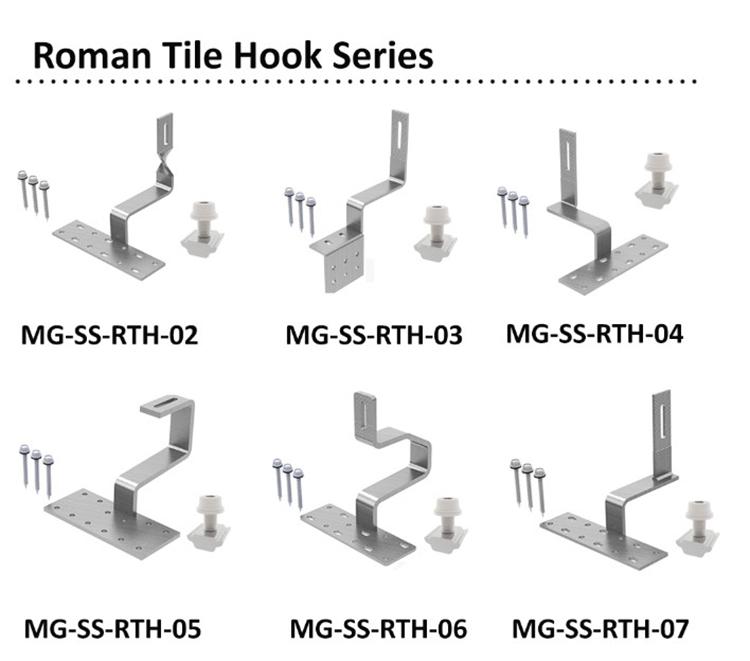 solar mount hook
