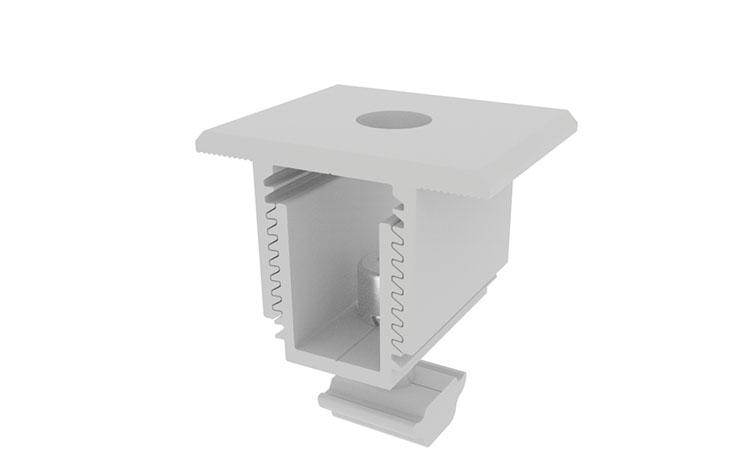Solar Racking Adjustable Mid Clamp