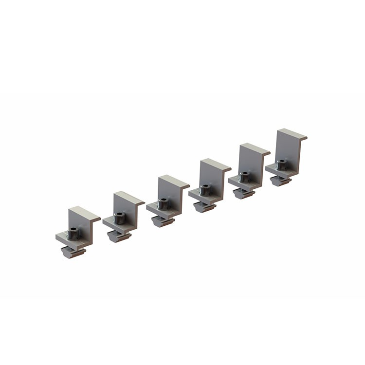Solar Racking Universal End Clamp Manufacturers, Solar Racking Universal End Clamp Factory, Supply Solar Racking Universal End Clamp