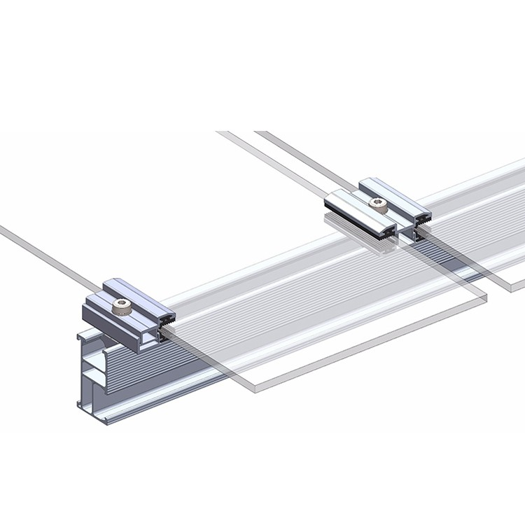 Solar Racking Thin Film Mid Clamps Manufacturers, Solar Racking Thin Film Mid Clamps Factory, Supply Solar Racking Thin Film Mid Clamps