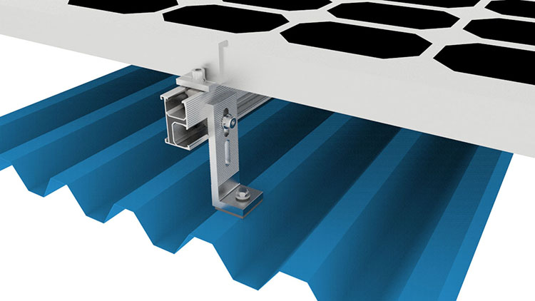 l foot roof mounting