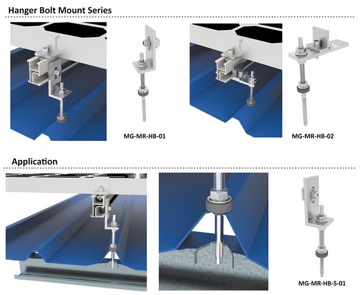hanger bolt solar mount