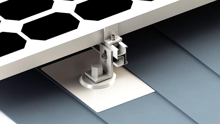solar panel roof flashing
