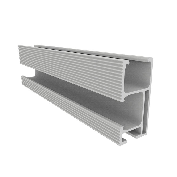 aluminium rail for solar panel mounting
