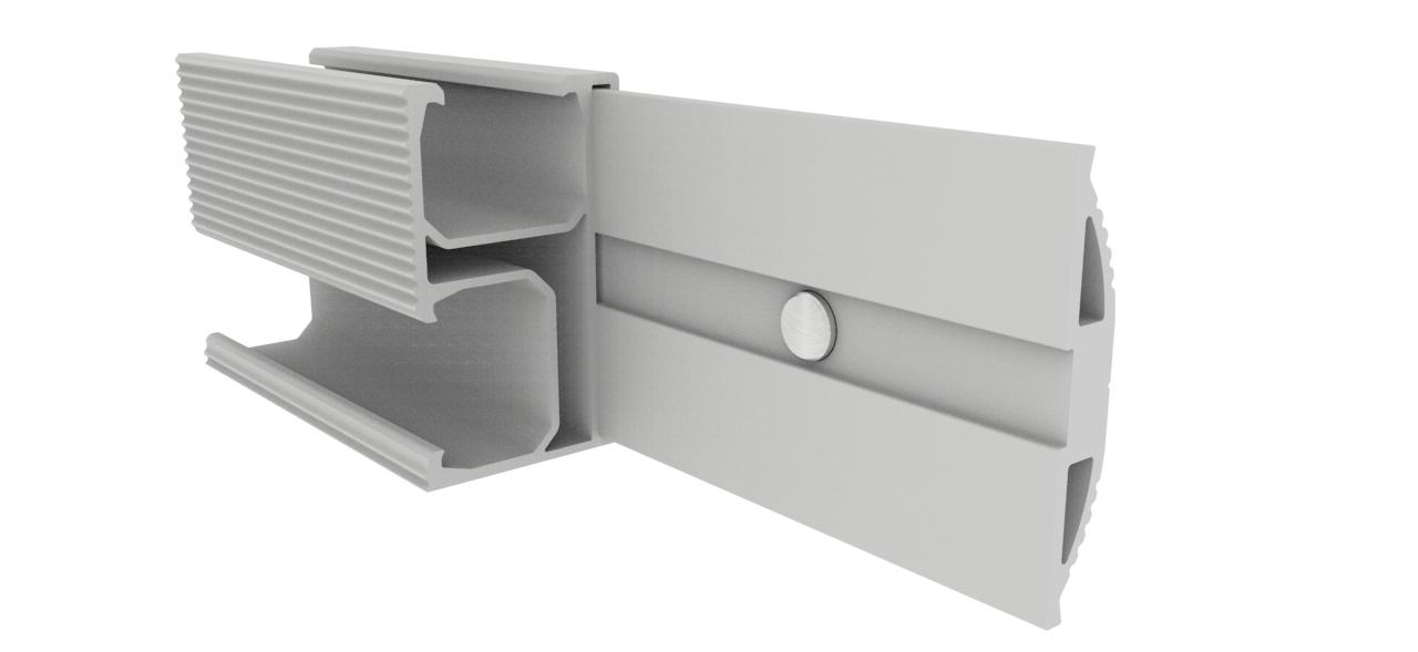 Solar Roof Racking Rail Connector