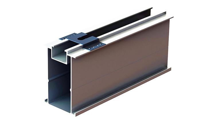 Clip di messa a terra per racking solare