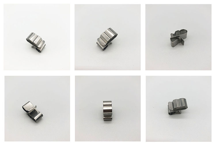 steel solar cable clips