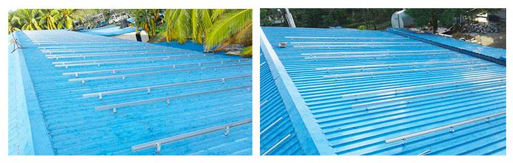 morsetto pannello solare per tetto in metallo