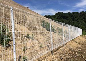5000 metros de malla de alambre soldado con autógena cerca de metal Panle en Japón