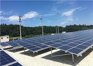 Proyecto de trasiego de tierra solar galvanizado de 400KW en Shizuoka