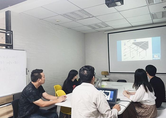 Formation sur les nouveaux collègues MG Solar