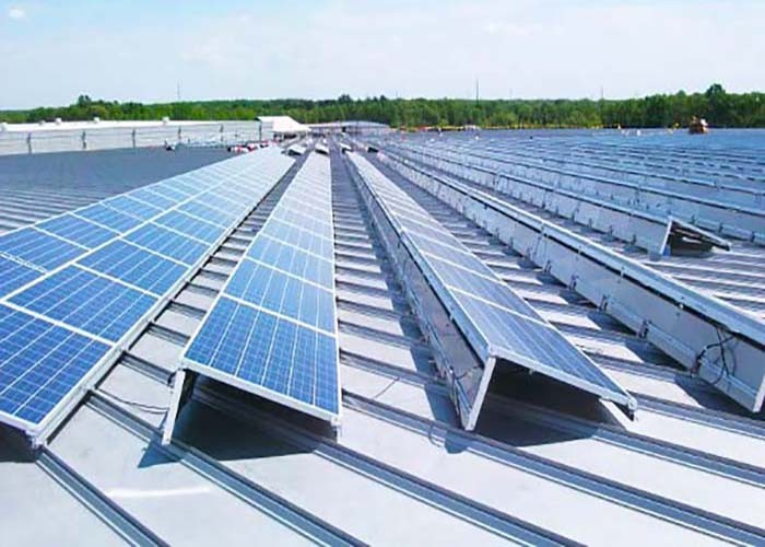 500KW Solar Flat Roof Panel Racking System in Japan