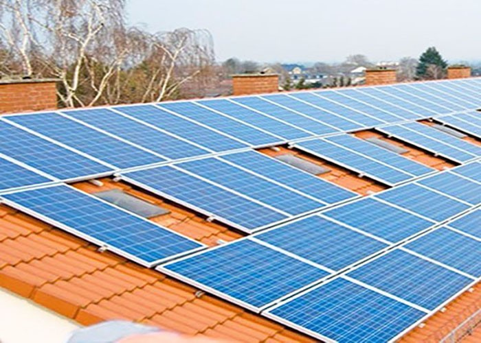 200kw Solar Tile Roof Mounting System In Canada