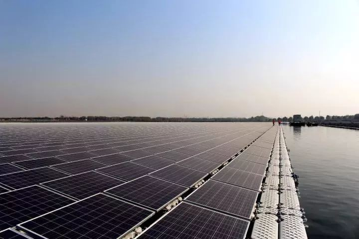500KW Solar Floating Mounting Structure Finished In Japan