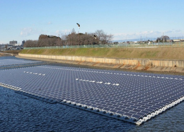 2000KW Solar Floating Structure System Finished In Thailand