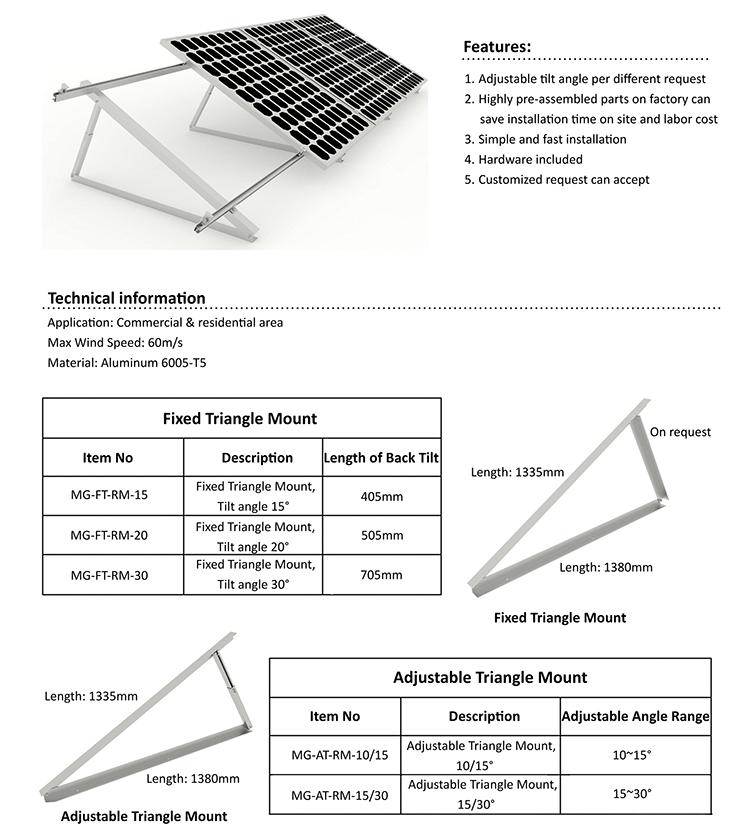 solar roof mount
