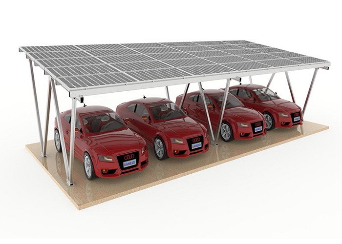 MG Solar Canopy Racking Structure