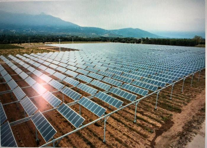 태국의 2000KW 태양 광 농업 장착 시스템